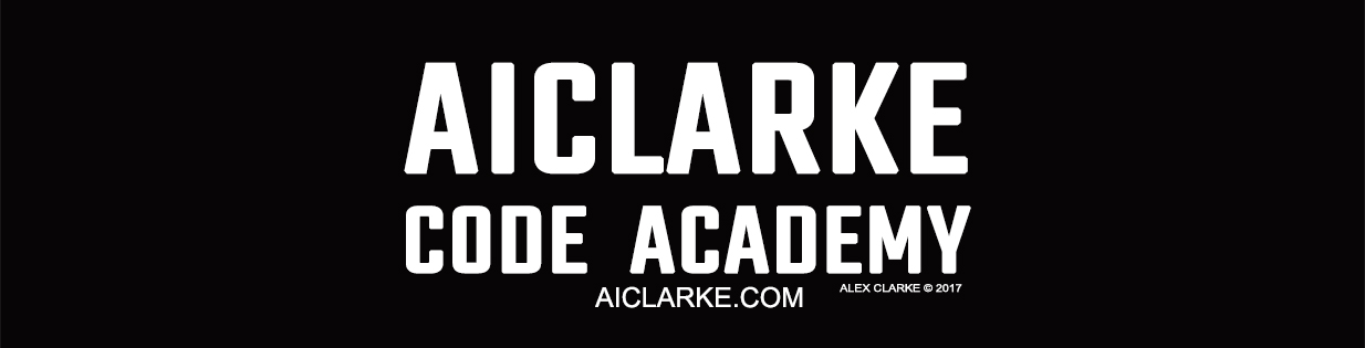 AICLARKE Code Academy aiclarke coding