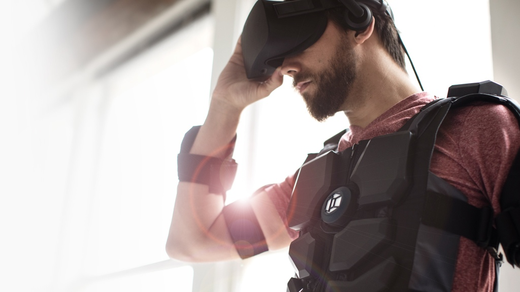 Hardlight VR NullSpace VR Virtual Reality suit