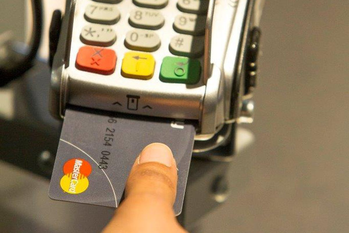 MasterCard biometric fingerprint scanner